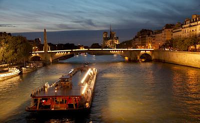 Seine River in Paris, France. Flickr:Marko Kudjerski