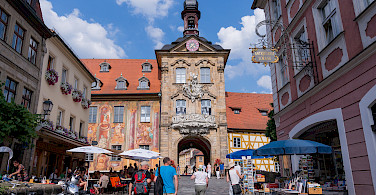 Altes Rathaus in Bamberg, Upper Franconia, Germany. Photo via Flickr:Wei-Te Wong