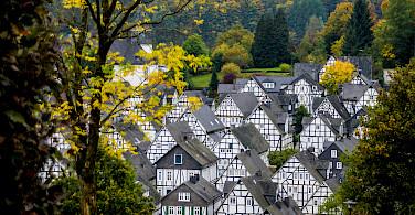 Alter Flecken of Freudenberg, North Rhine-Westphalia, Germany. Photo via Flickr:Polybert49