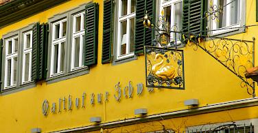 Volkach in Bavaria, Germany. Photo via Flickr:Alexander von Halem