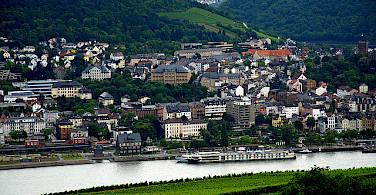 Bike to Bingen on the Rhine in Germany. Photo via Flickr:dave-f
