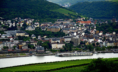 Bike to Bingen on the Rhine in Germany. Photo via Flickr:dave-f