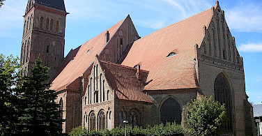 St. Marien Church in Anklam - photo via Creative Commons: Michael Sander