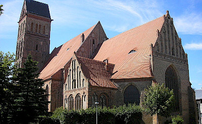 St. Marien Church in Anklam. Photo via Creative Commons:Michael Sander