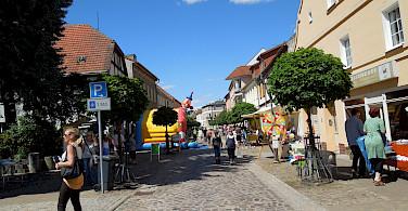 Shopping in Oderberg, Germany. Photo via Flickr:☮