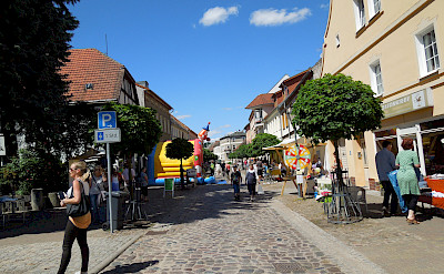 Shopping in Oderberg, Germany. Photo via Flickr:☮