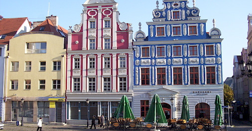Old Town in Szczecin, Poland. Photo via Wikimedia Commons:PublicDomain