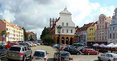 Old Town in Szczecin, Poland. Photo via Wikimedia Commons:Mateusz War.