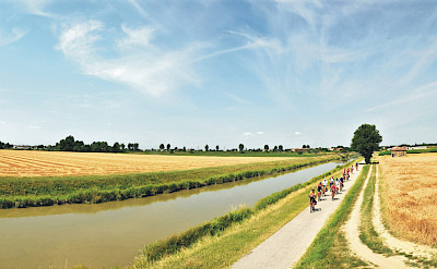 Enjoying the Mantova to Venice Bike & Boat Tour in Italy. ©Photo via TO