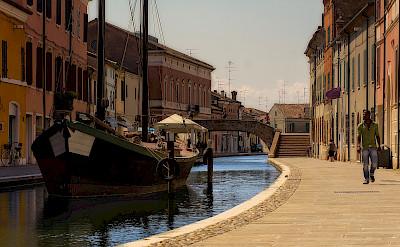 Comacchio in province Ferrara, Italy. Photo via Flickr:Enrico Pighetti