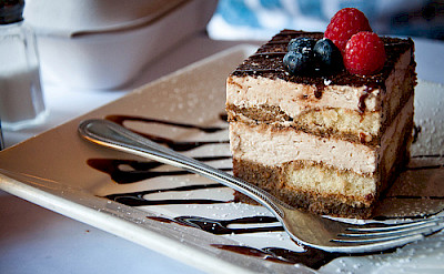 Tiramisu originates from northern Italy. Photo via Flickr:Alexis Fam Photography