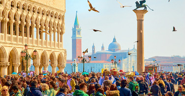 Piazza San Marco, Venice, Italy. Photo via Flickr:Moyan Brenn