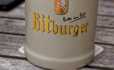 Bitburger bier is a favorite in Trier, Germany. Flickr:Miguel Discart