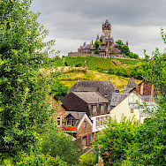 View of Reichsburg in Cochem, Rhineland-Palatinate, Germany. Flickr:Jodage