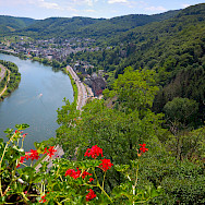 Cochem along the Mosel River in Germany. Photo via Flickr:Random_fotos