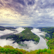 Traben-Trabach is on the left side of the Moselle River in Saarland, Germany. Flickr:Wolfgang Staudt