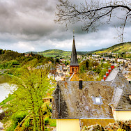 Beautiful Saarburg in Germany. Flickr:Wolfgang Staudt