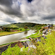 Cycling the Saar River valley in Germany. Wolfgang Staudt