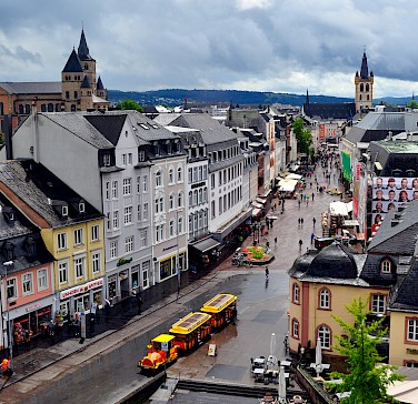 Stormy weather in Trier, Germany. Photo via Flickr:Troy