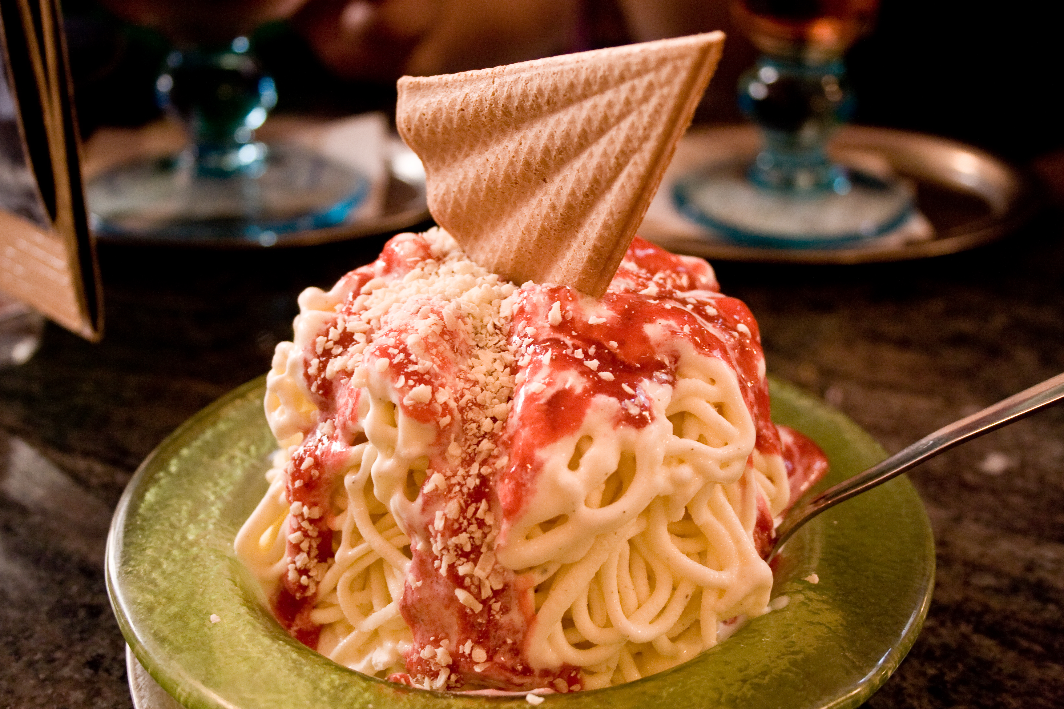 Koblenz to Merzig Bike and Barge Tour   Germany   Tripsite Tripsite     Spaghetti ice cream in Trier  Germany  Photo via Flickr Christian Cable
