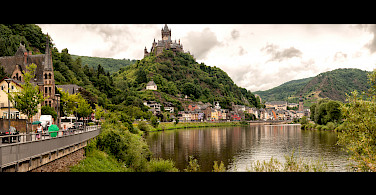 Cochem on the Mosel River in Germany. Photo via Flickr:Erik Soderstrom