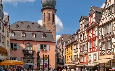 Main Square in Cochem, Rhineland-Palatinate, Germany. Flickr:Frans Berkelaar