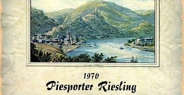 A wine label from the Mosel River, whose wines are very well-known! Photo via Flickr:Roger Wollstadt