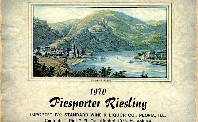 A wine label from the Mosel River, whose wines are very well-known! Flickr:Roger Wollstadt