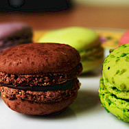 Macarons are a favorite in France! Flickr:Marc Kjerland