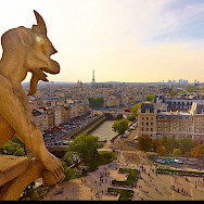 View from Notre Dame Cathedral in Paris, France. Flickr:Moyan Brenn