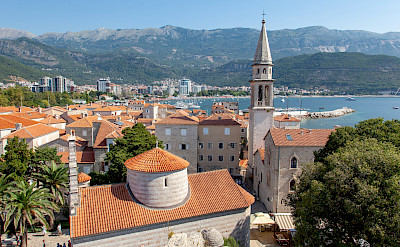 Cycling through Budva in Montenegro. Flickr:Nicolas Vollmer