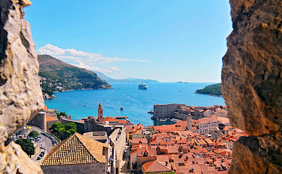 View of Dubrovnik along the Dalmatian Coast in Croatia. Flickr:Tambako the Jaguar