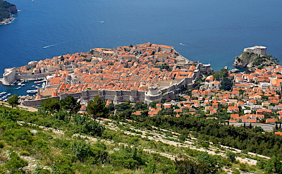 View from the cable car in Dubrovnik, Croatia. Flickr:Dennis Jarvis