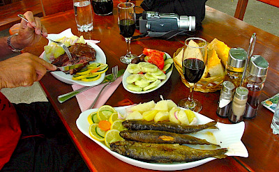 Fresh fish & wine in Montenegro. Flickr:Darij Zadnikar
