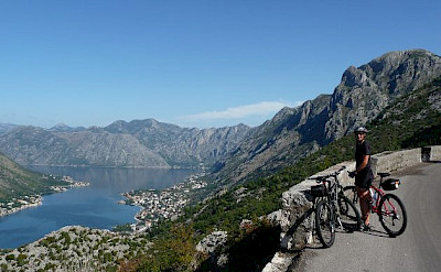 Taking in the view in Montenegro. Photo by Roswitha & Rudolf Geist