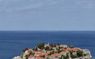 Biking in Sveti Stefan in Montenegro. Flickr:Harshil Shah