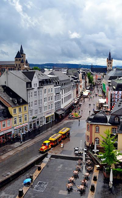 Bike rest in Trier, Germany. Flickr:Troy