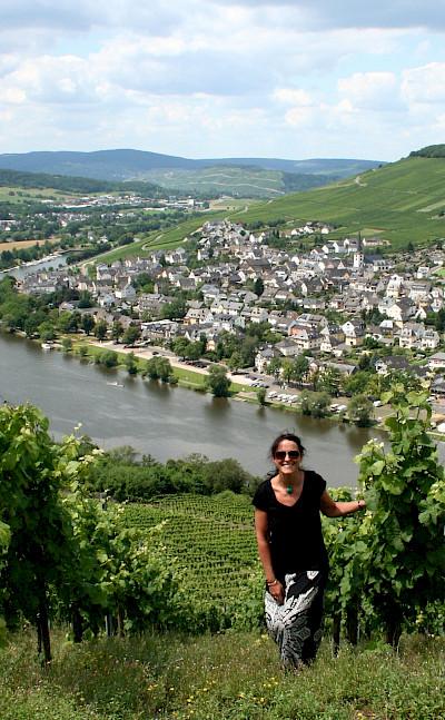 Mosel River Valley near Bernkastel-Kues, Germany. Flickr:Megan Mallen