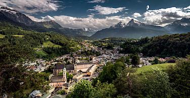 Berchtesdagen, with Watzmann mountain and Königssee, Bavaria, Germany. Photo via Flickr:Bernd Thaller