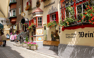 Typical Tyrol architecture in Kufstein, Austria. Photo via Flickr:Marc Czerlinsky
