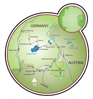 Ciclovia Mozart Map