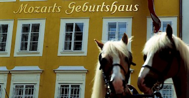 Birthplace of Mozart, Salzburg - photo courtesy of Austrian National Tourist Office
