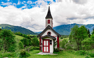 Church in Inzell in the Bavarian Alps of Germany. Flickr:Günter Hentschel