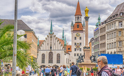 Marienplatz in Munich, Bavaria, Germany. Flickr:Graeme Churchard