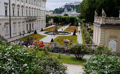 <i>Mirabell Palace & Gardens</i>in Hohensalzburg in Salzburg, Austria. Flickr:Karlos Dambrans