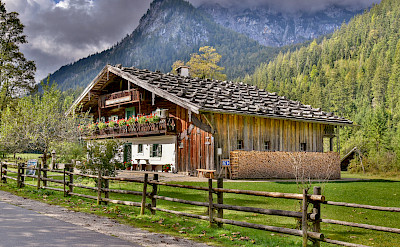 Restaurant in Inzell in the Bavarian Alps of Germany. Flickr:Günter Hentschel