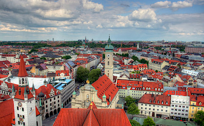 Munich in Bavaria, Germany. Flickr:John Morgan