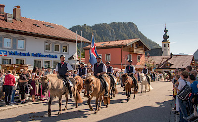Parade in Inzell in the Bavarian Alps of Germany. Flickr:Günter Hentschel