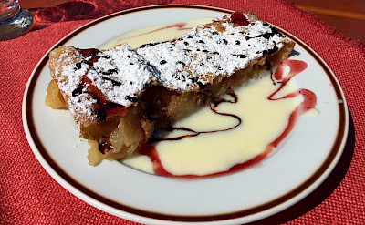 Apfelstrudel Austrian-style of course! Flickr:Heather Cowper