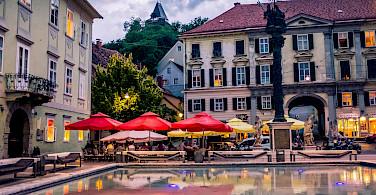 Bike rest in Graz, Austria. Photo via Flickr:::ErWin